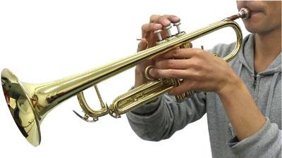 トランペットの吹き方